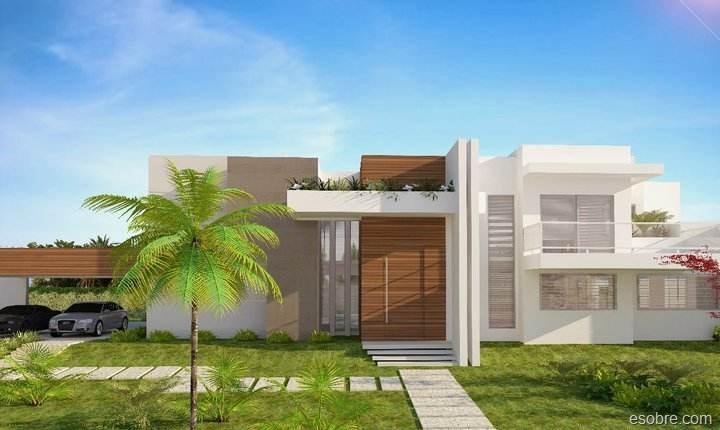 10 fachadas de casas modernas y simples fachadas de for Fachada de casas modernas y bonitas