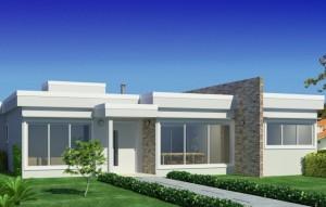 10 Fachadas de casas modernas y simples (2)