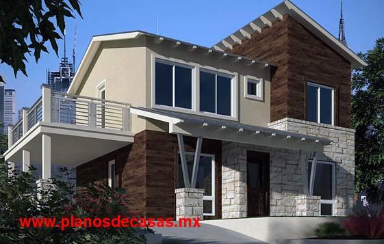 12 bonitas fachadas de casas con tejas fachadas de casas for Fachadas de casas modernas a desnivel