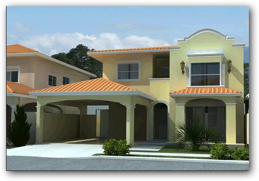 12 bonitas fachadas de casas con tejas fachadas de casas for Fachadas de ventanas para casas modernas