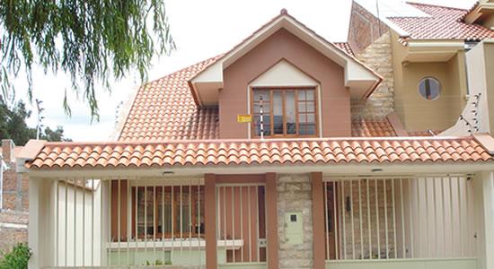 12 Bonitas Fachadas De Casas Con Tejas Fachadas De Casas