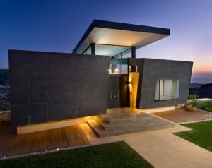 9 Hermosas fachadas de casas modernas con piedra (3)
