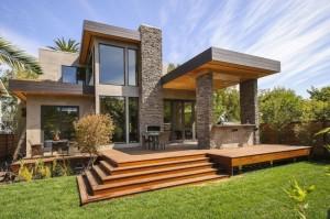 9 Hermosas fachadas de casas modernas con piedra (5)