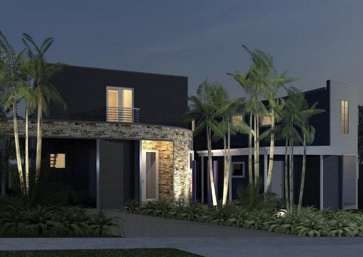 9 hermosas fachadas de casas modernas con piedra for Fachadas modernas con piedra