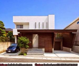 11 Fachadas de casas modernas con garaje (10)