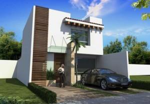 11 Fachadas de casas modernas con garaje (3)