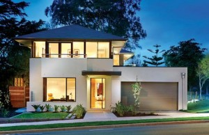 11 Fachadas de casas modernas con garaje (4)