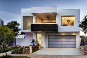 11 Fachadas de casas modernas con garaje (6)