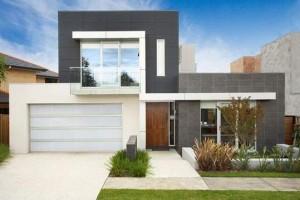 11 Fachadas de casas modernas con garaje (7)