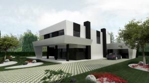 11 Interesantes fachadas de casas modernas con pérgolas (1)