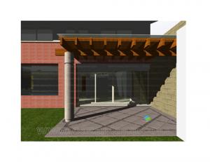 11 Interesantes fachadas de casas modernas con pérgolas (2)