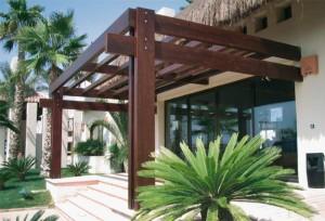 11 Interesantes fachadas de casas modernas con pérgolas (3)