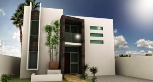 12 Fachadas de casas modernas con terraza (12)