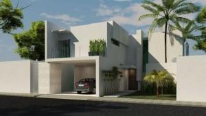 12 Fachadas de casas modernas con terraza (3)