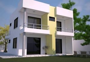 12 Fachadas de casas modernas con terraza (4)