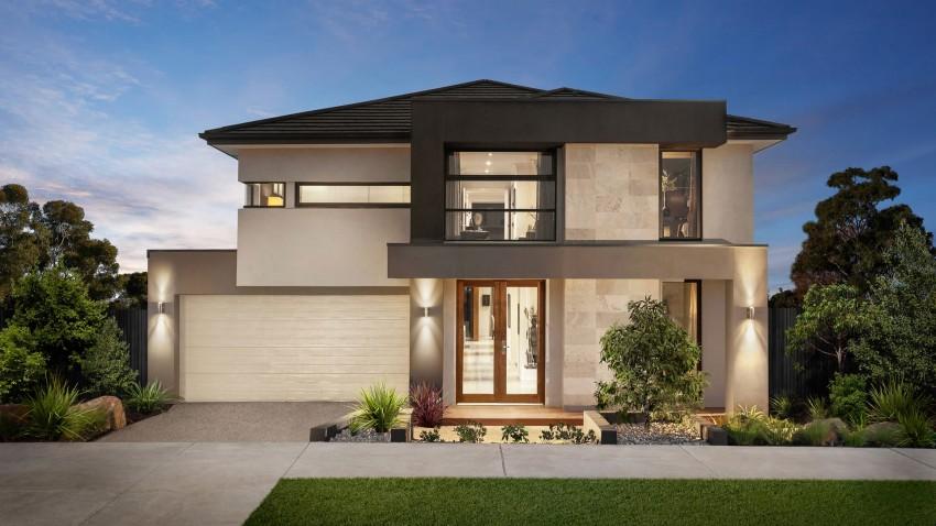 12 fachadas de casas modernas con terraza fachadas de casas modernas - Terrazas de casas modernas ...