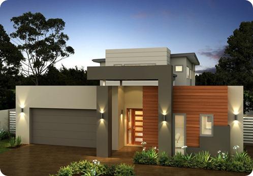 12 fachadas de casas modernas y bonitas fachadas de