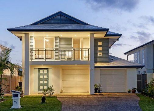 12 fachadas de casas modernas y bonitas fachadas de for Casa moderna 4 mirote y blancana