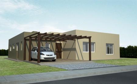 9 fachadas de casas con p rgolas fachadas de casas modernas for Fachadas de casa modernas con pergolas