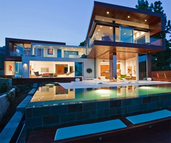 September 2015 fachadas de casas modernas - Casas de lujo modernas ...