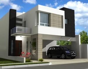 11 Interesantes fachadas de casas modernas con cantera (2)