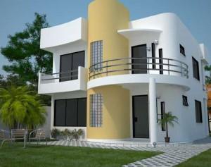 11 Interesantes fachadas de casas modernas con cantera (5)