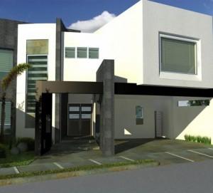 11 Interesantes fachadas de casas modernas con cantera (8)
