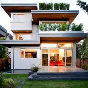 10 Fachadas de casas modernas de 3 niveles (15)