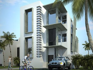 10 Fachadas de casas modernas de 3 niveles (6)