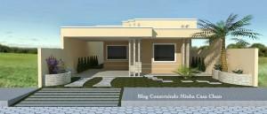 9 Fachadas de casas modernas y pequeñas (1)