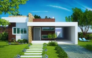 9 Fachadas de casas modernas y pequeñas (7)