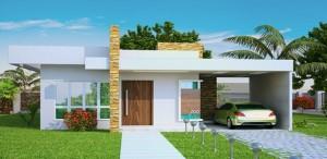 9 Fachadas de casas modernas y pequeñas (9)