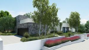 10 fachadas de casas modernas con jardineras (10)