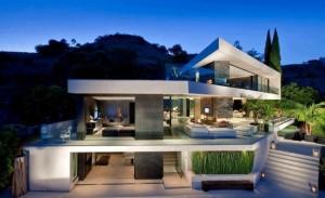 10 fachadas de casas modernas con jardineras (2)