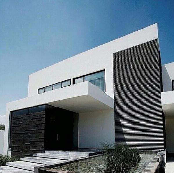 10 fachadas de casas modernas con jardineras fachadas de