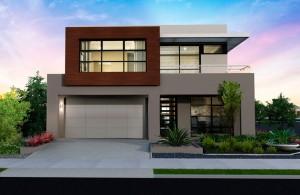 10 fachadas de casas modernas con jardineras (8)