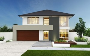 10 fachadas de casas modernas con jardineras (9)