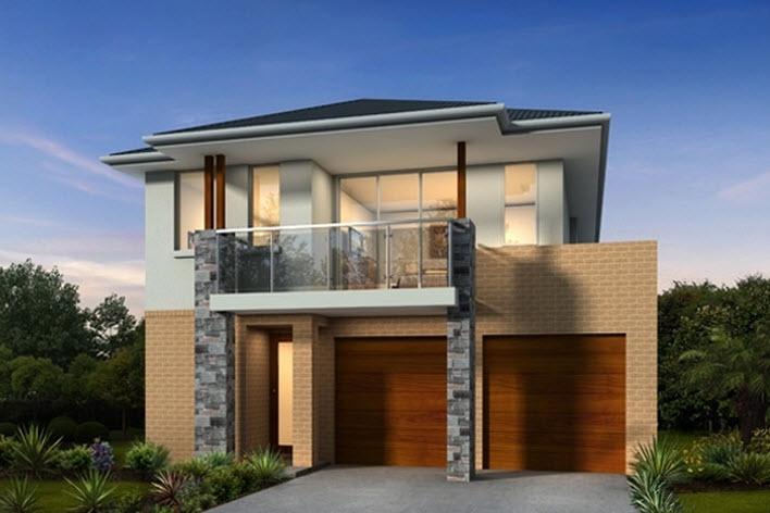 10 fachadas de casas modernas de dos plantas fachadas de for Casas pequenas de dos plantas modernas