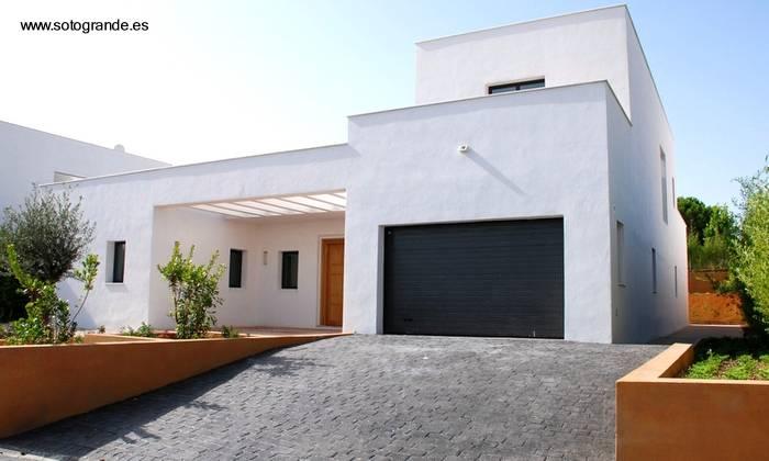 Fachadas de casas modernas ideas de fachadas planos originales y las viviendas m s modernas - Casas blancas modernas ...