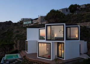 10 fachadas de casas modernas en desnivel (5)