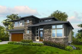 10 fachadas de casas modernas en desnivel (9)