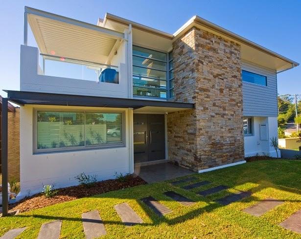 10 fachadas de grandes casas modernas fachadas de casas for Casas grandes modernas