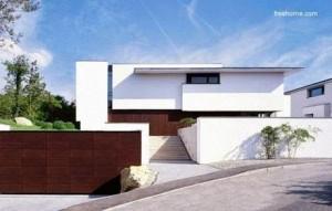 11 fachadas de casas modernas a desnivel (1)