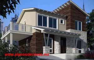 11 fachadas de casas modernas a desnivel (4)