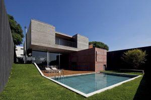 10 fachadas de casas modernas Brasil (1)