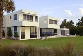 10 fachadas de casas modernas blancas (2)