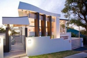 10 fachadas de casas modernas blancas (7)
