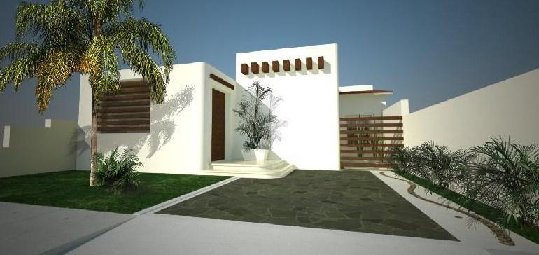 10 fachadas de casas modernas blancas fachadas de casas for Fachadas de casas nuevas modernas