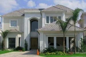 10 fachadas de casas modernas con molduras (9)