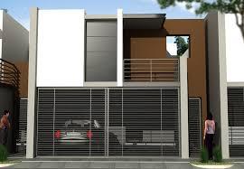 10 fachadas de casas modernas con rejas (10)